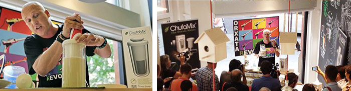 Presentación de ChufaMix®, the Veggie Drinks Maker