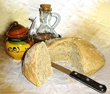 Pan artesano de harina de chufas